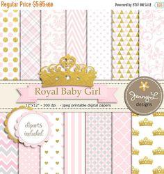Baby Girl Clipart, pink, Baby clip art, World babies, Digital Clip.