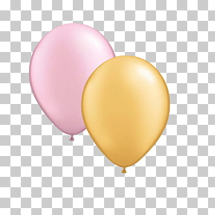 320 pink Gold Balloon PNG cliparts for free download.