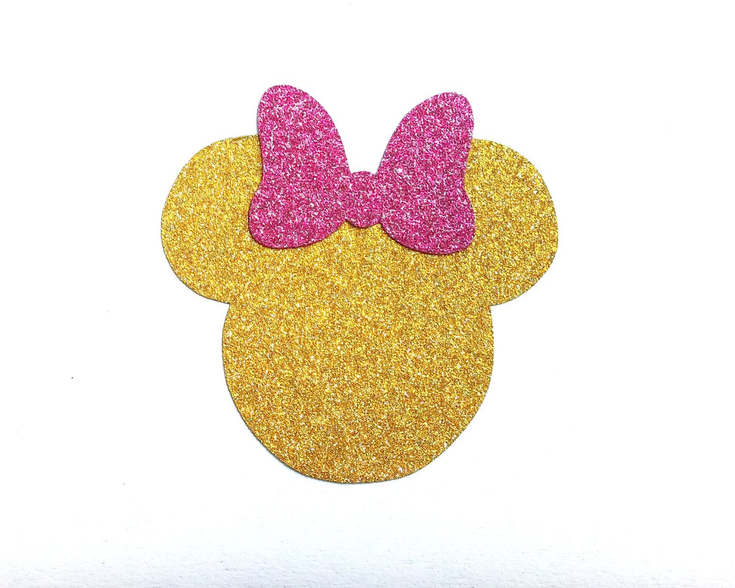 Minnie Non Shed Glitter Stickers.