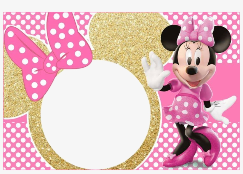 Minnie Mouse Micky Pink Gold.