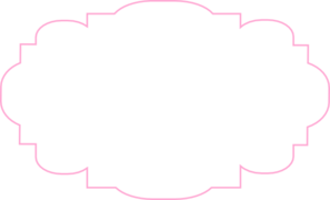 Pink Label Clipart.
