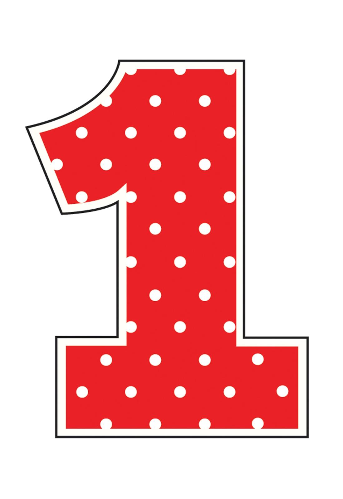 Polka Dot Number 3 Clipart#2060649.
