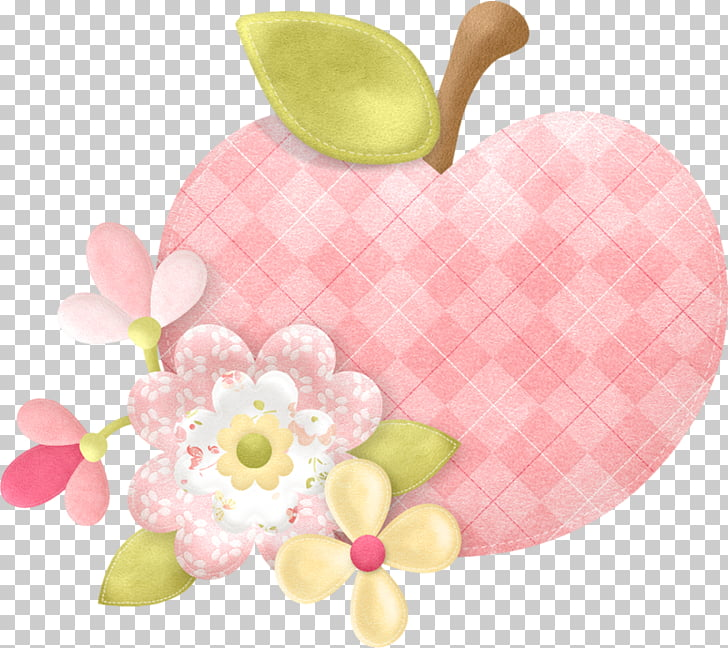 Apple , Pink Apple PNG clipart.