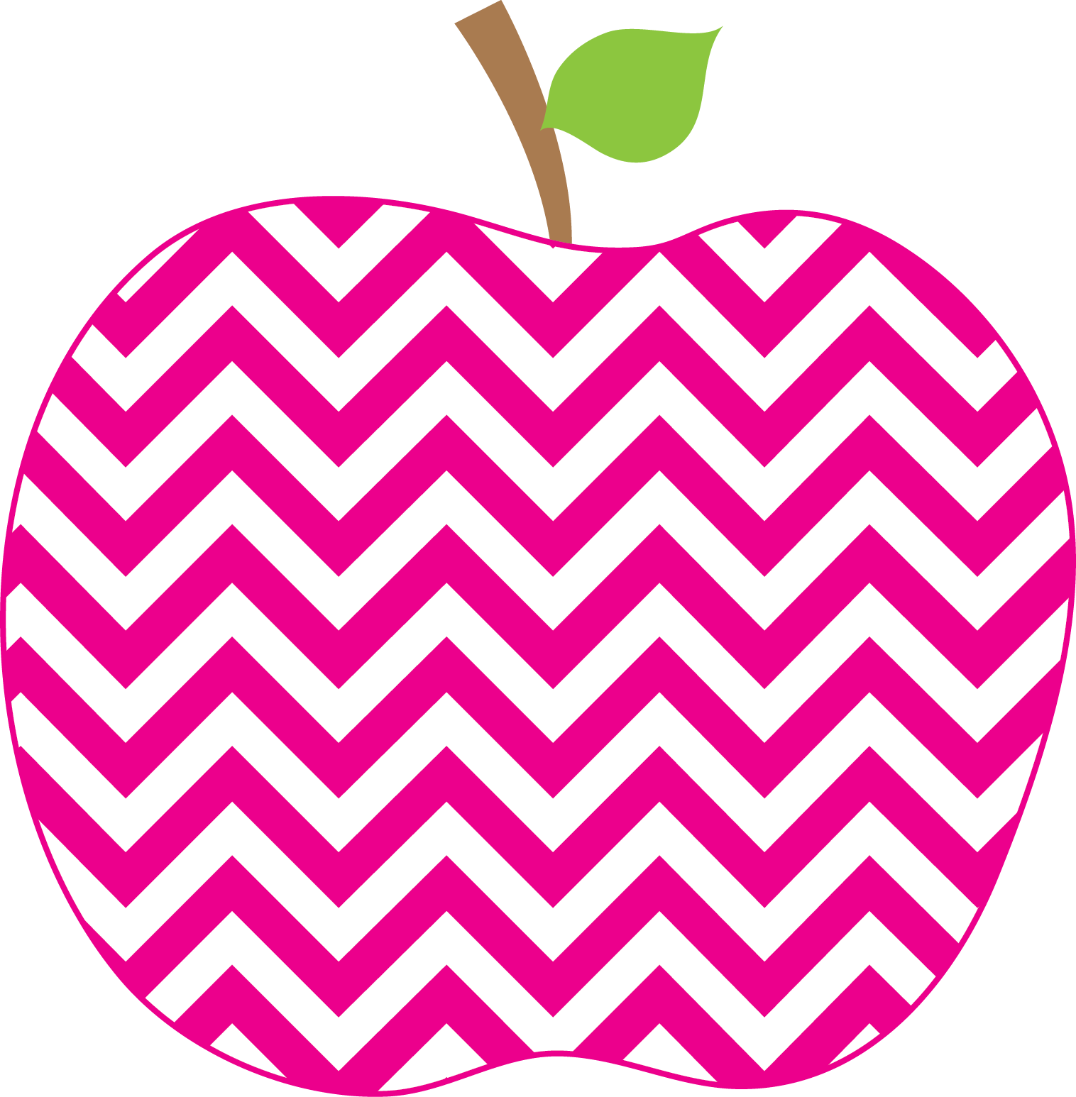 28 Collection Of Chevron Apple Clipart.