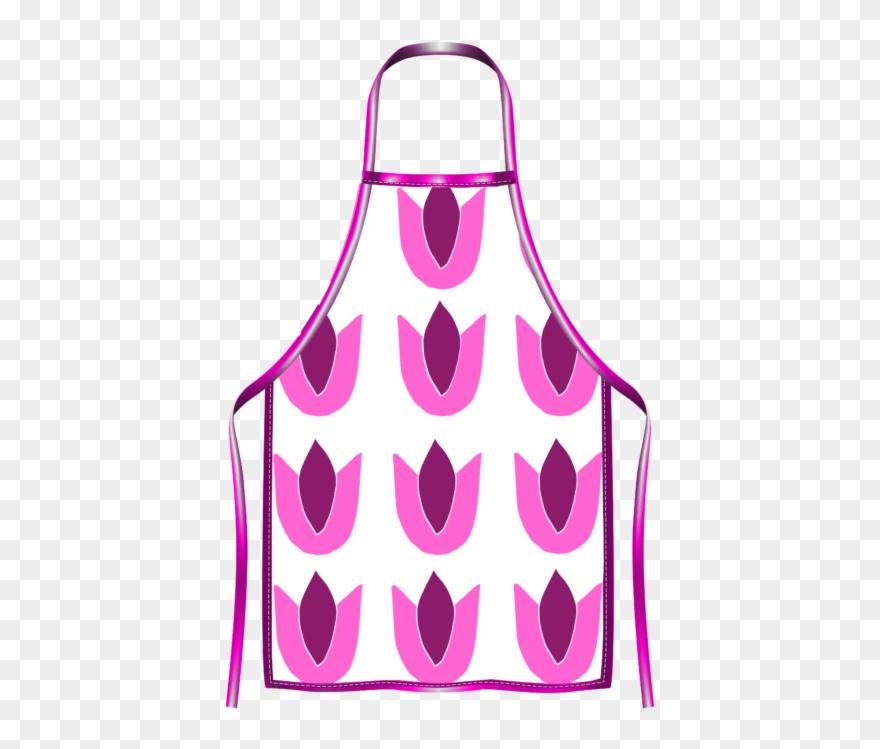 Tulip Apron Pink/purple Clipart (#3147758).