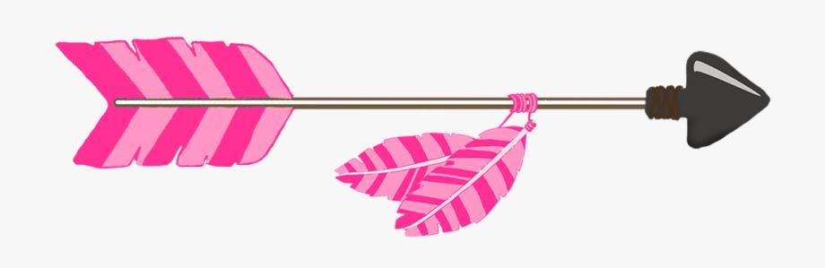 Pink Tribal Arrow.