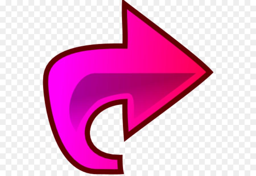 Pink Arrow png download.