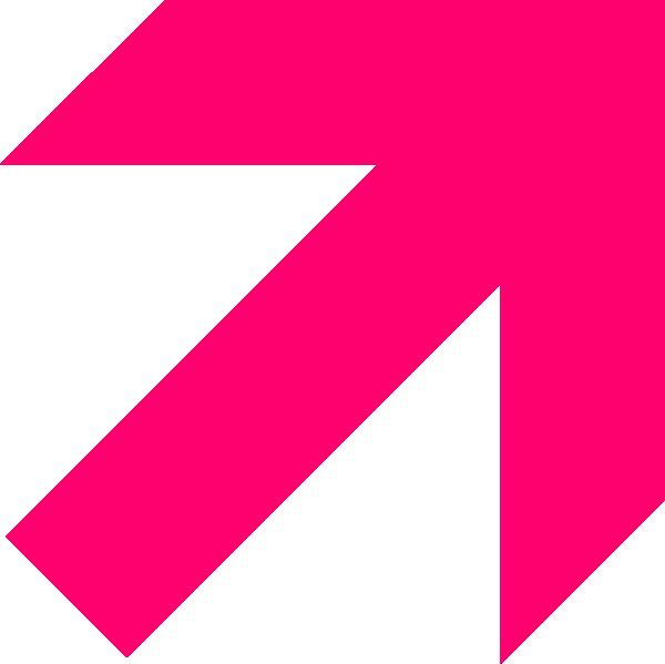 Hot Pink Arrow Clip Art at Clker.com.