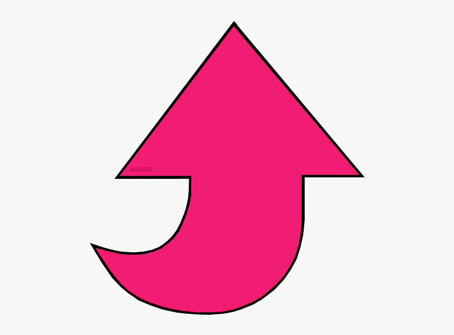 Pink Arrow Clipart , Png Download.