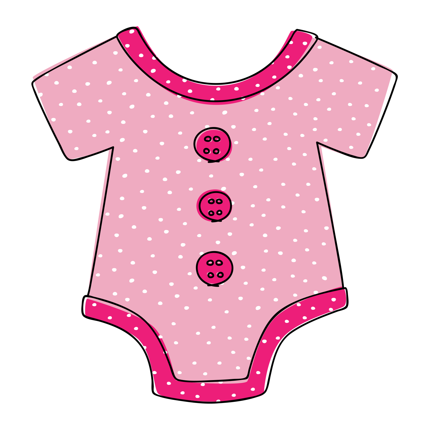 Free Downloadable Baby Onesie Clipart.
