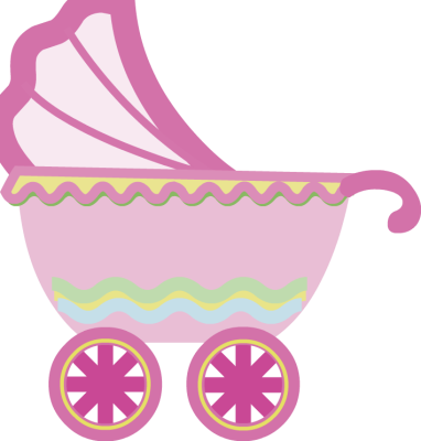 Cartoon baby rattle clipart pink clipart.