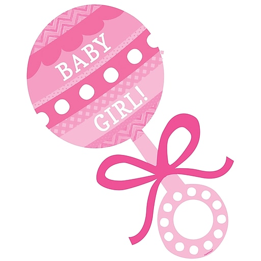 Pink baby rattle clipart 3 » Clipart Station.