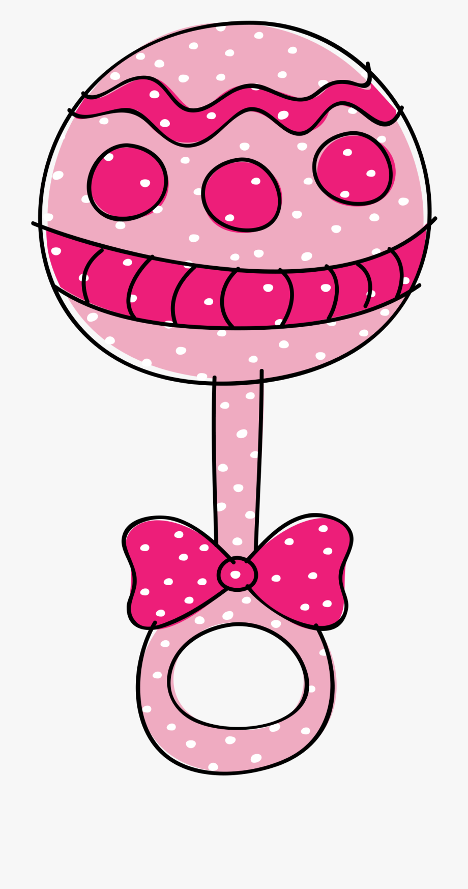 Baby Rattle Clipart #798441.