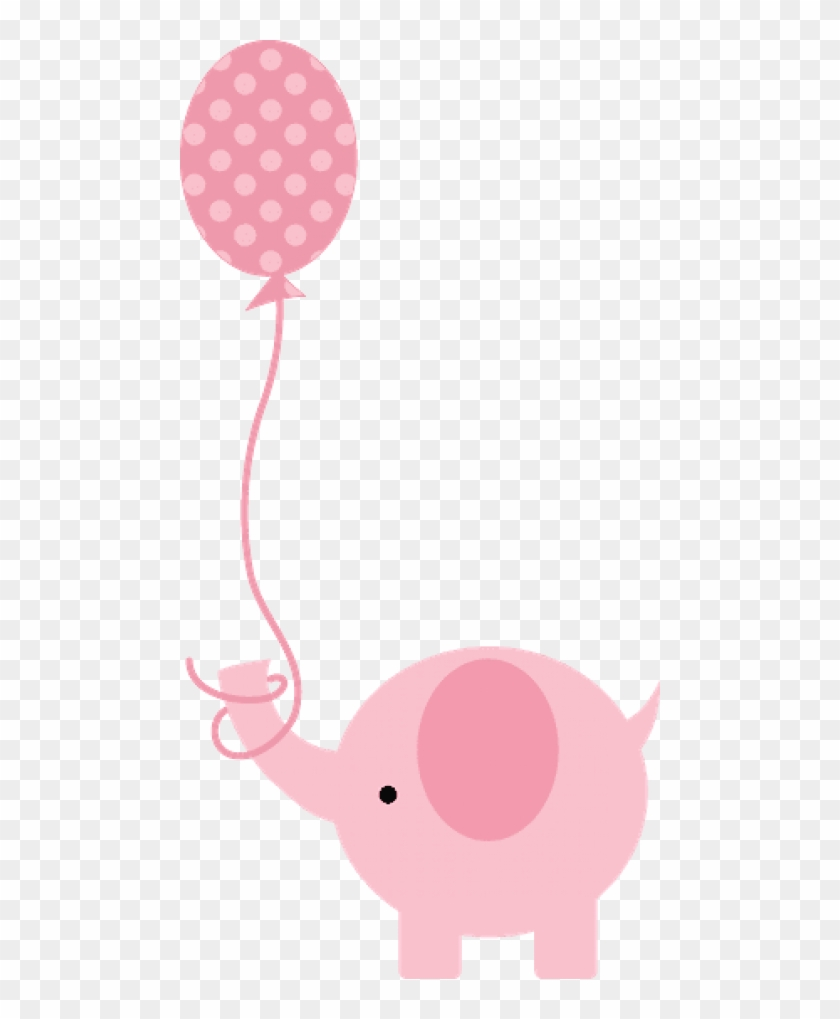 Free Png Download Pink Baby Shower Elephant Png Images.