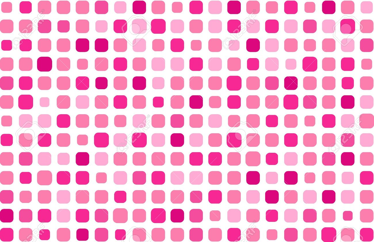 Geometric Pink Background Clipart.