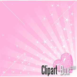 CLIPART HEART PINK BACKGROUND.