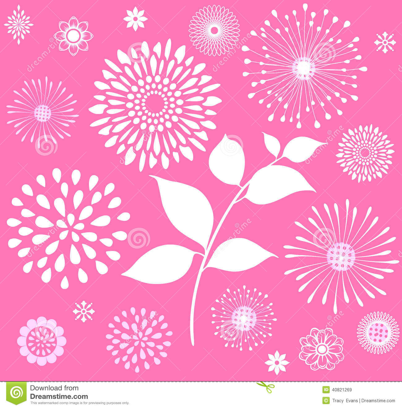 Pink background clipart
