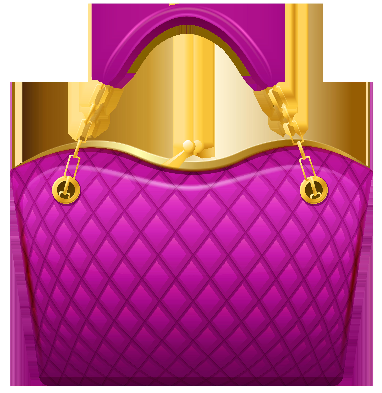 Pink Handbag PNG Clip Art.