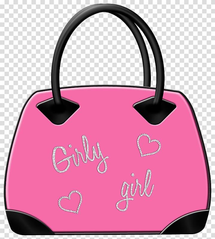Handbag Paper , Pink bag transparent background PNG clipart.