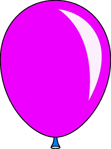 New Pink Balloon Clip Art at Clker.com.