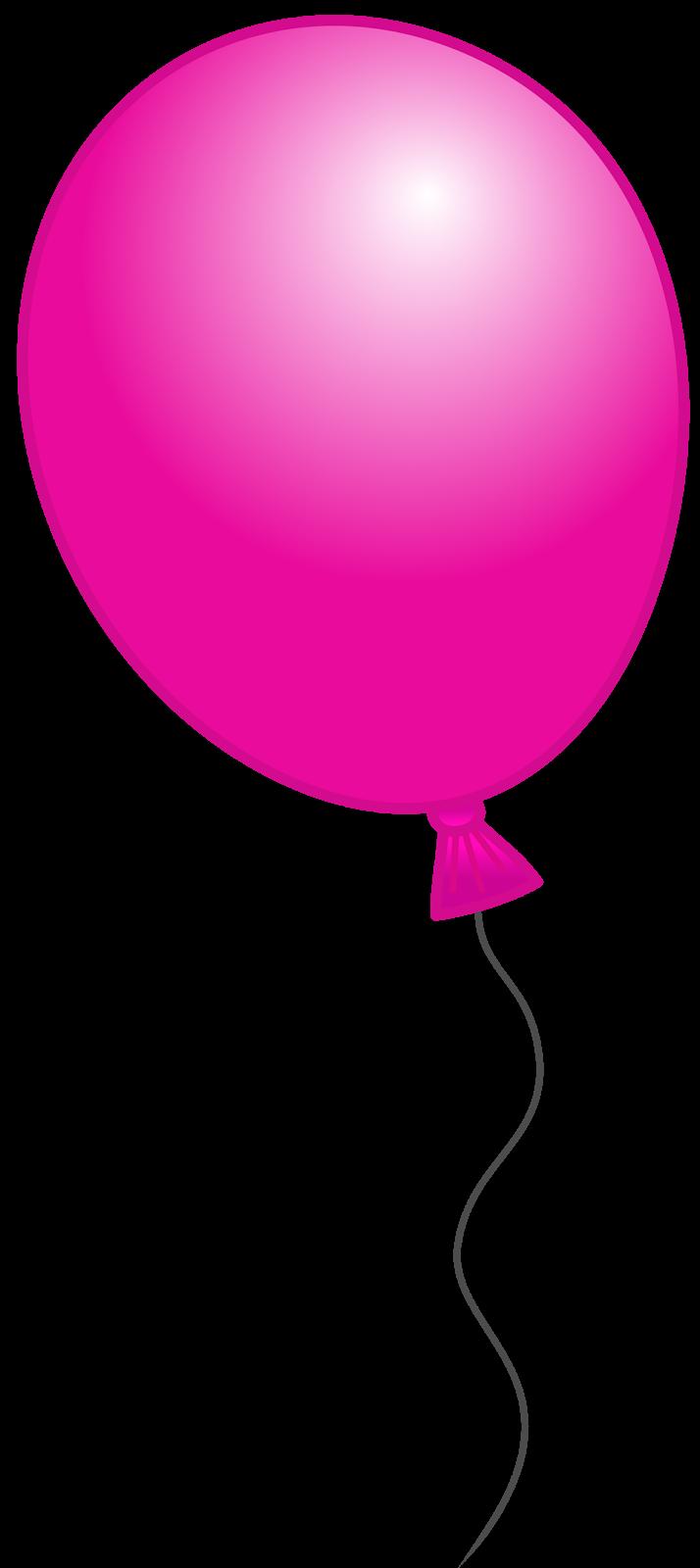 Pink Balloon Clipart.