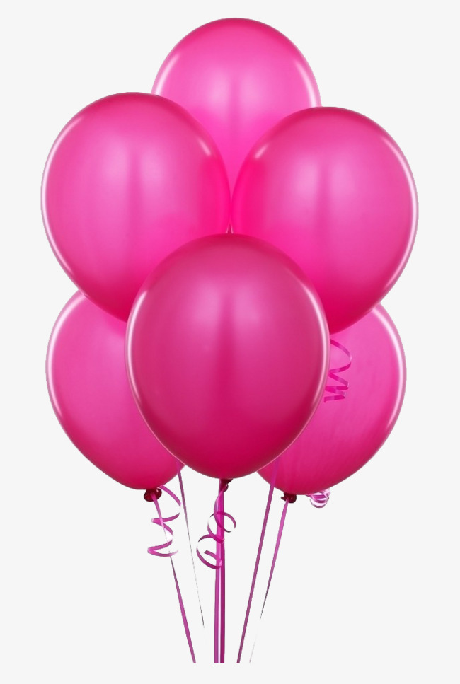 Pink balloons clipart 2 » Clipart Station.