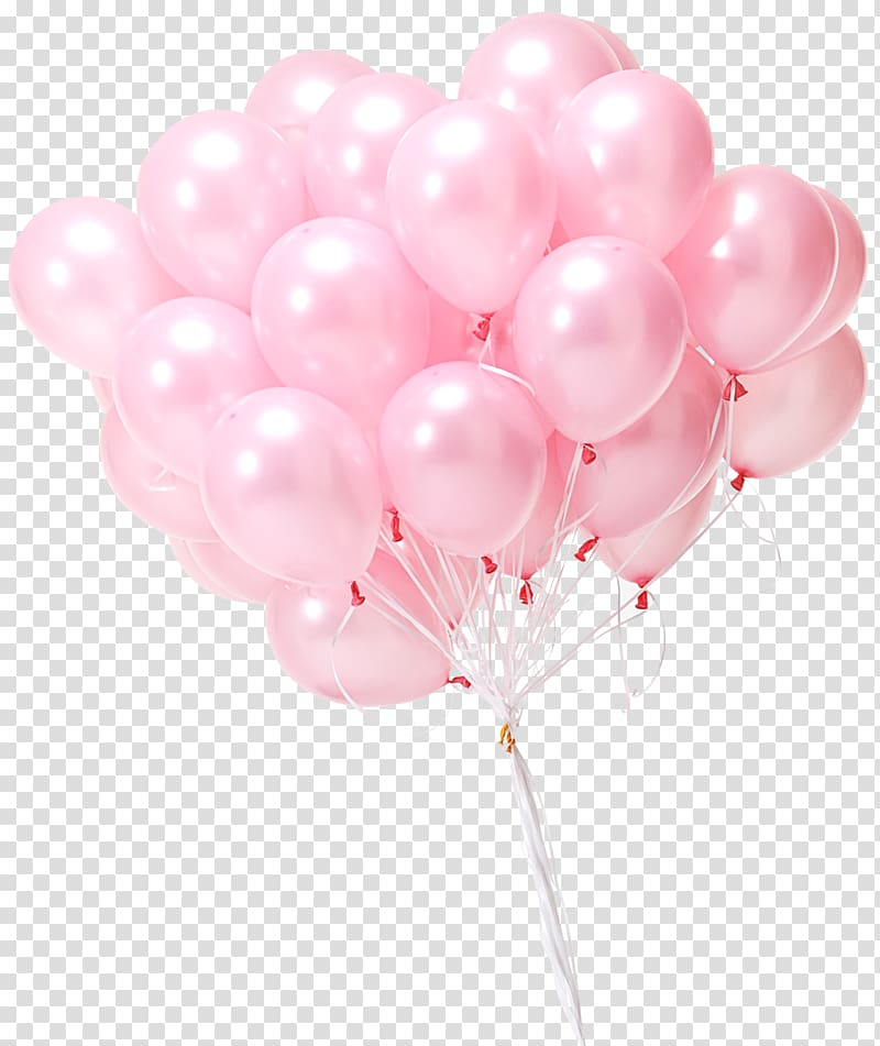 Pink balloons , Gas balloon Toy Gift Inflatable, balloon.