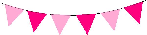 Pink Banner Clipart.