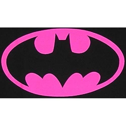 Pink Batman Logo.