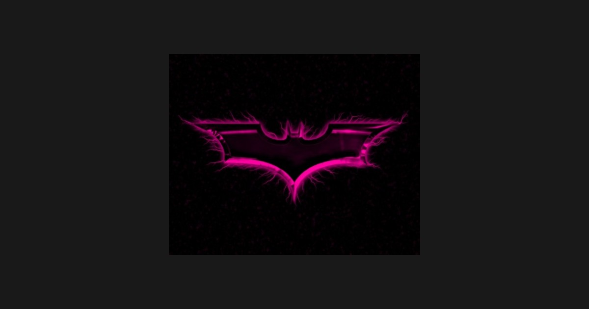 Pink Batman by pinkbatman.