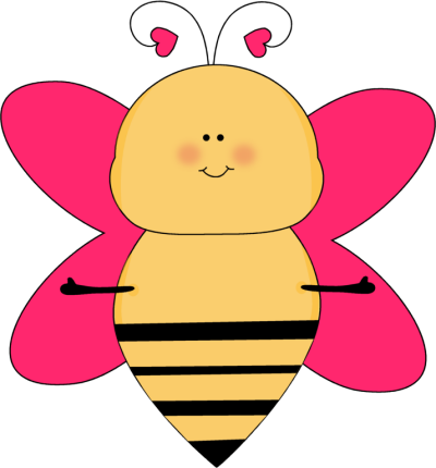 9276 Bee free clipart.