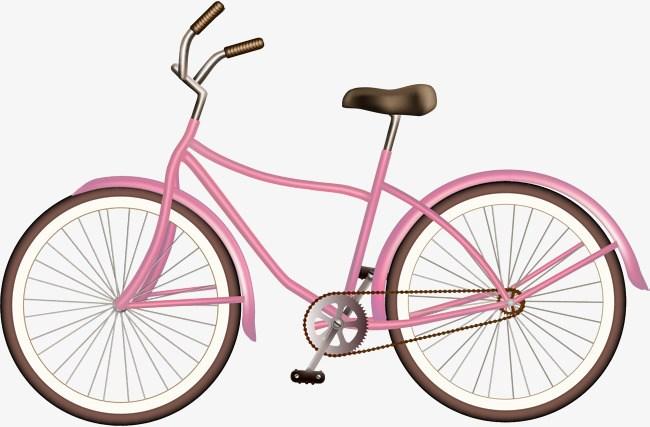 Pink bike clipart 1 » Clipart Portal.