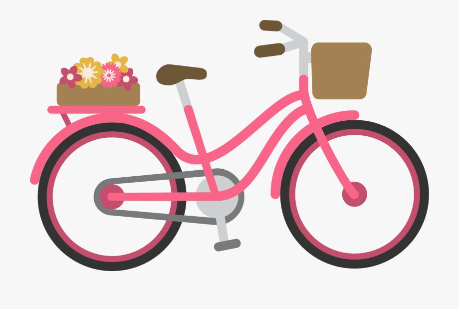 Cycle Vector Pink Bike.