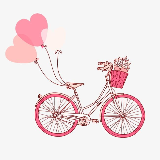 Pink Bike PNG, Clipart, Bicycle, Bike Clipart, Pink, Pink.