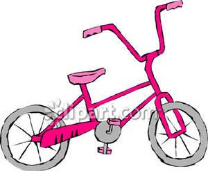 A Pink Bike.