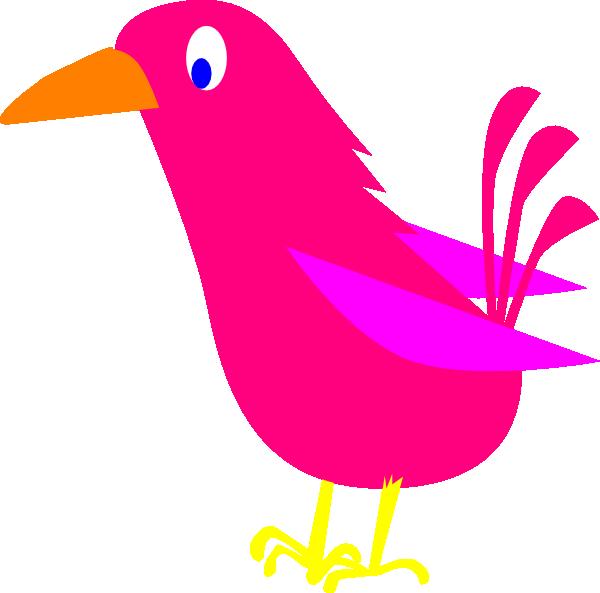 Pink Bird Clip Art at Clker.com.