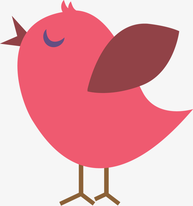 Pink bird clipart 4 » Clipart Station.