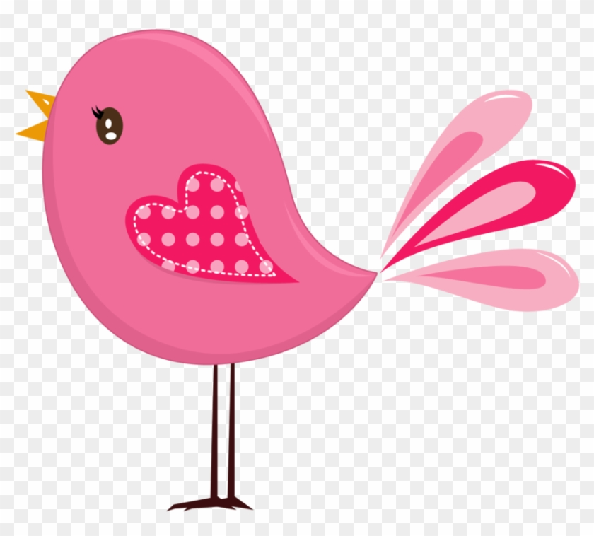 Yellow Birds, Pink Bird, Birds 2, Cute Birds, Applique.