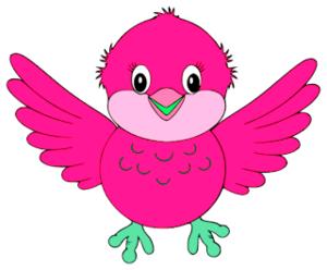 Cute Bird Cliparts.