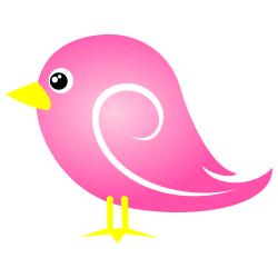 Pink bird clipart » Clipart Station.