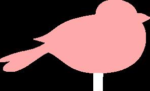 Pink Bird PNG, SVG Clip art for Web.