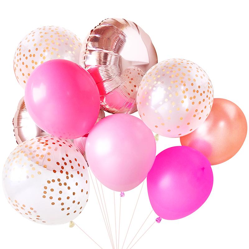 Pink Balloon Bouquet.