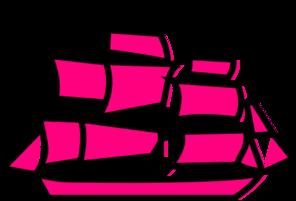 Pink Boat Clip Art at Clker.com.