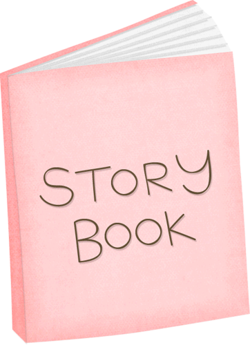 PINK STORY BOOK.