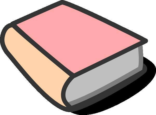 Pink Book Reading Clip Art at Clker.com.
