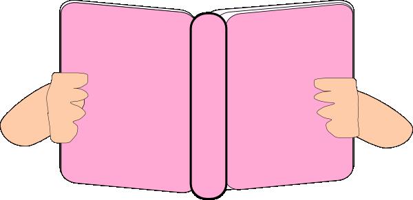 Pink Book Clip Art at Clker.com.