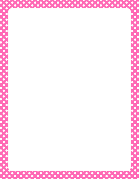 Pink border clipart 2 » Clipart Station.