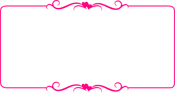 Download Pink Border Frame Transparent Background.