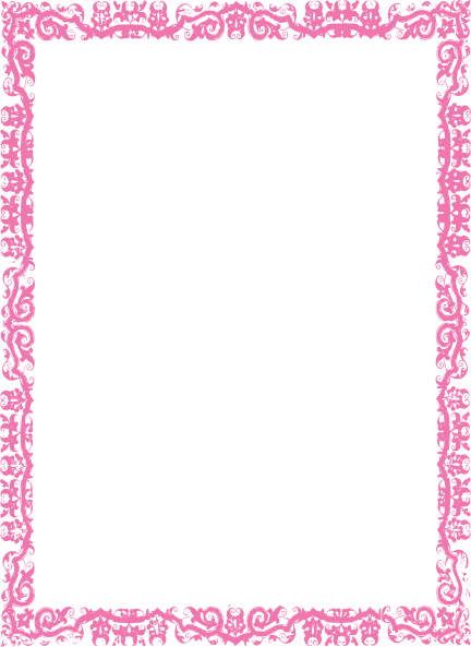 Download Free png Pink Border Frame PNG Photos.