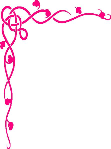 Pink Borders.